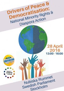 UNPO announces XXI Session Presidency Conference on 'Drivers of Peace and Democratisation: National Minority Rights and Diaspora Action'