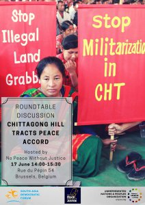 Roundtable Discussion on the Chittagong Hill Tracts Peace Accord