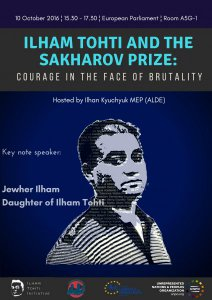 European Parliament Conference: Ilham Tohti and the Sakharov Prize: Courage in the Face of Brutality