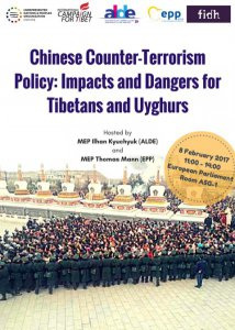Chinese counter-terrorism policy:  Impacts and dangers for Tibetans and Uyghurs