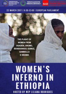 European Parliament Conference: Women's Inferno in Ethiopia