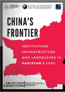UNPO Announces Academic Conference at the University of Oxford: China's Frontier - Institutions, Infrastructure and Landscapes in Pakistan's CPEC