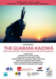 UNPO Announces European Parliament Conference: The Guarani-Kaiowá and the Assault on Indigenous Rights in Brazil