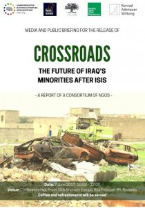 "UNPO Announces Official Launch of Report ""Crossroads: The Future of Iraq's Minorities after ISIS"""