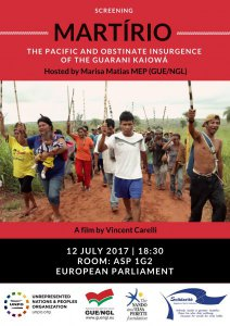EP Documentary Screening: Martírio, the Pacific and Obstinate Insurgence of the Guarani-Kaiowá